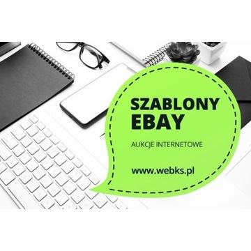 Projektowanie stron - szablony eBay