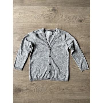 Zara szary sweterek dla chłopca 128 cm 8