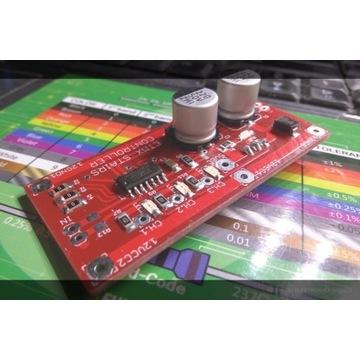 Płytka kontrolera LED RGB WS2801 oświetlone schody