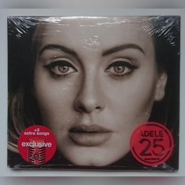 Adele 25  Deluxe Ed 3 bonusowe utwory nowa folia