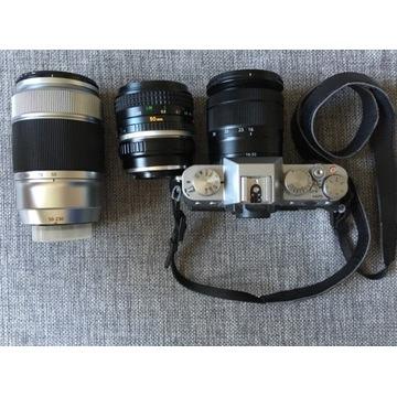 Aparat Fujifilm X-T10 + 3 obiektywy!