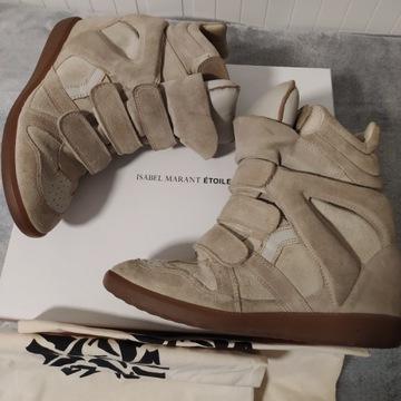 Oryginalne sneakers sneakersy Isabel Marant Bekett