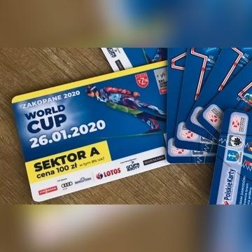 Bilety Zakopane skoki PŚ SUPER MIEJSCA sek A 26.01