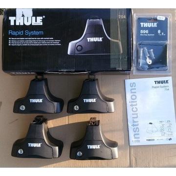 Stopy Thule 754 + 4 wkładki