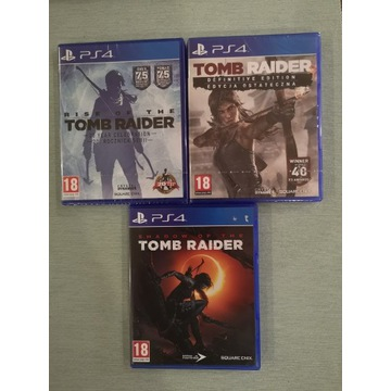 Zestaw Tomb Rider PS4