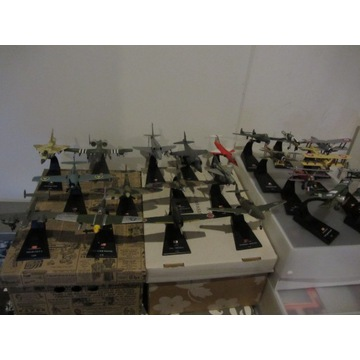 Samoloty świata kolekcja-22 metalowe modele