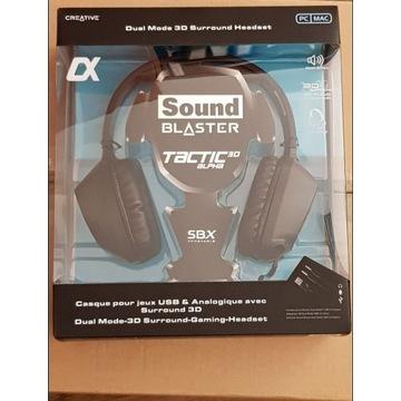 SŁUCHAWKI Creative Sound Blaster TACTIC 3D ALPHA z