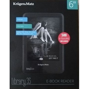 Kruger & Matz Library 3S E-book Reader