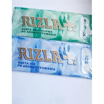 Karty aromatyzujące Rizla do tytoniu