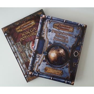 Zestaw D&D 3.5 Przewodnik Mistrza+Księga Potworów