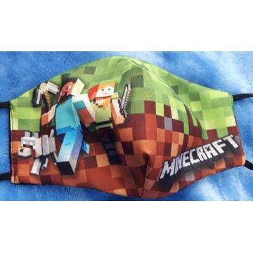 Maseczka Minecraft