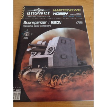 Model kartonowy Answer Sturmpanzer I Bison