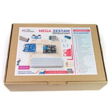 Arduino zestaw edukacyjny - rozbudowany