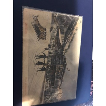 Stara pocztówka Adelboden