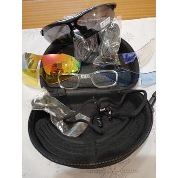 Okulary sportowe z oprawkami korekcyjnnymi
