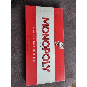 Gra Monopoly stara , lata 60