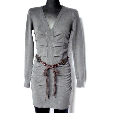 Ciekawa tunika /sukienka  na S/M/L uniwesalna