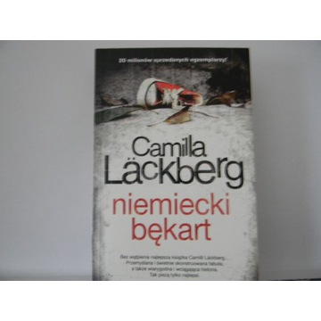 Niemiecki bękart Camilla Lackberg