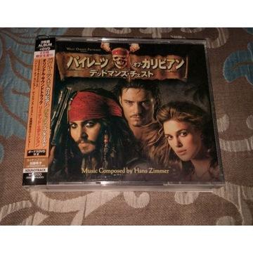 Hans Zimmer Pirates Dead man's chest Japan 2CD+DVD