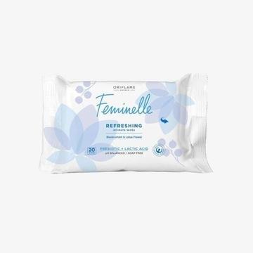Odświeżające chusteczki do higieny intymnej Femine