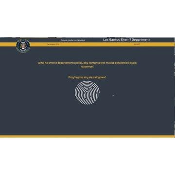 Tablet Policyjny na wyspę FiveM - MDC POLICE - ESX