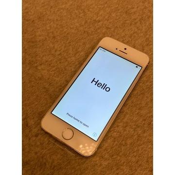 iPhone 5s 16GB silver - stan idealny
