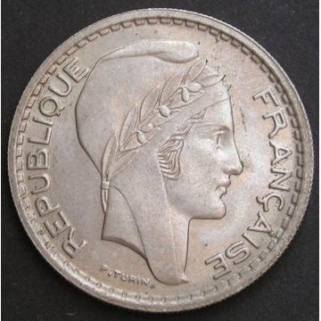 Francja 10 franków 1948 - stan menniczy -