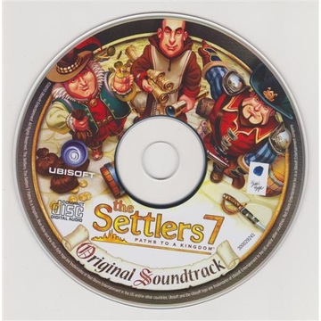 The Settlers 7 Official Soundtrack - stan idealny