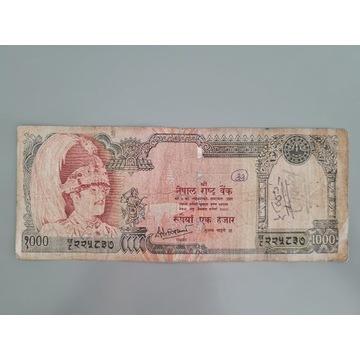 Nepal - 1000 Rupees