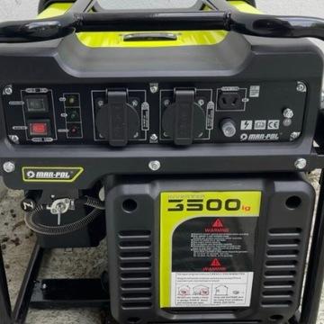 AGREGAT INWERTOROWY 3,5 kW OKAZJA 10 mies. gwaranc