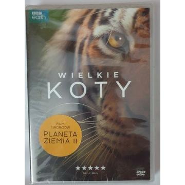 DVD Wielkie Koty (BBC) FOLIA
