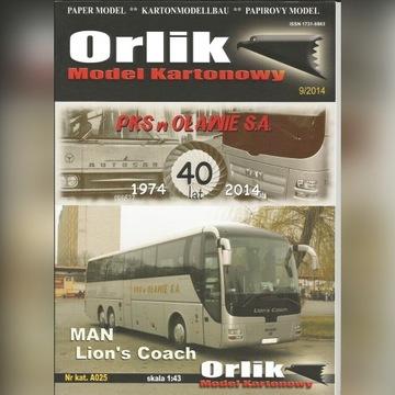 MAN Lion's Coach Orlik 1:43