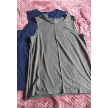 Koszulki 2 sztuki H&M bez rękawków 170