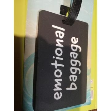 Adresownik etykieta walizka zawieszka identyfikato