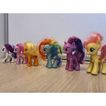 my little pony kucyki zestaw 6 szt.