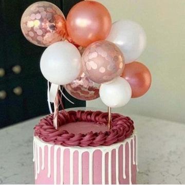 CAKE TOPPER BALONY różne wersje kolorystyczne