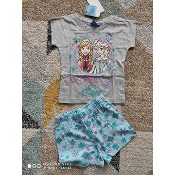 Piżama koszulka spodenki ELSA Anna Frozen 128