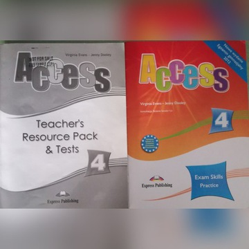 Access 4 Teachers book and Exam Skills