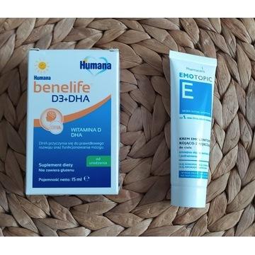 Humana benelife D3 + DHA 15ml od ur + GRATIS
