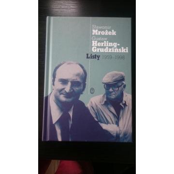 Mrożek Herling-Grudzinski Listy 1959-1998