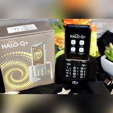 Telefon myPhone Halo Q+ - nowy, dla seniorów