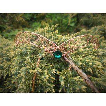 Tiara elficka korona elf cosplay handmade wesele