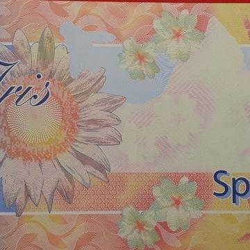 banknot testowy KBA Giori Specimen UNC