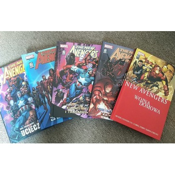 The New Avengers - tomy 1-5 - Mucha Comics