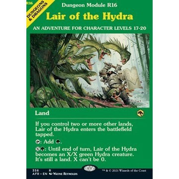 Lair of the Hydra - wersja AFR Extras