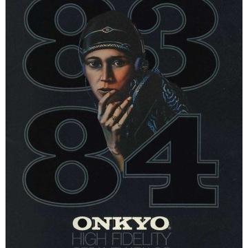 Katalog ONKYO z 1983-1984