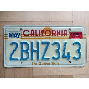 Tablica California USA