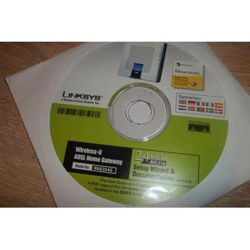 Sterowniki routera Linksys WAG200G i WAG354G