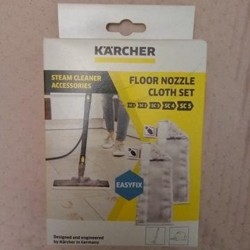 Ścierki Karcher nowe do dyszy podłogowej