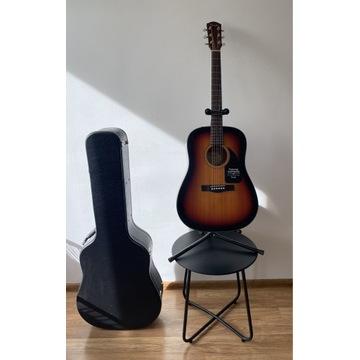 Gitara akustyczna Fender CD60V2 + stojak + futerał